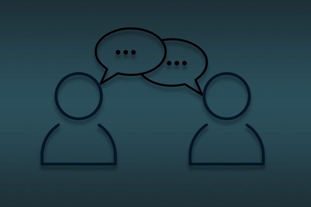 chat, conversation, communication